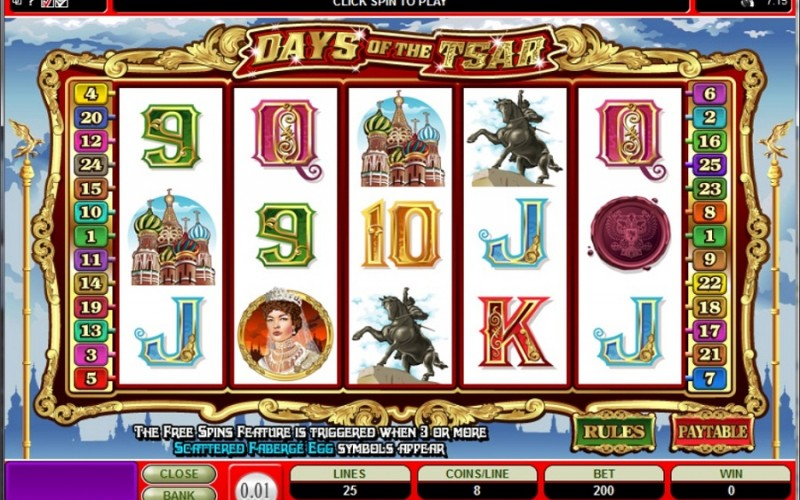 Slots With Russian Theme