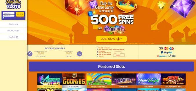 Aladdin slots promo code